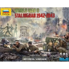 "Zvezda 6260 Battle of Stalingrad ""Art of Tactic Wargame"""