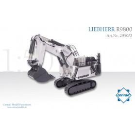 Conrad 29500 LIEBHERR R9800 Mining backhoe