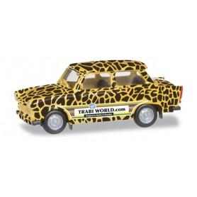 "Herpa 027663 Trabant 601 ""Edition Trabi-world.com"" Modell 3 (Giraffe)"