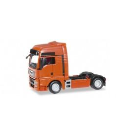 Herpa 301695.5 MAN TGX XXL Euro 6 rigid tractor, traffic orange
