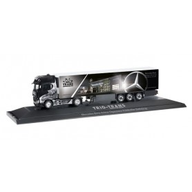 """Herpa 121644 Mercedes-Benz Actros Gigaspace refrigerated box semitrailer """"Trio-Trans"""""""