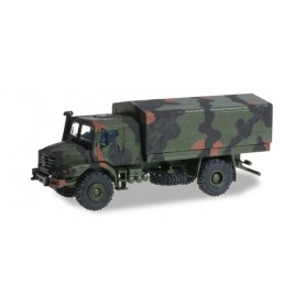 Herpa 744911 Mercedes-Benz Zetros armoured 4x4 camouflage markings