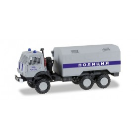 "Herpa 745253 Kamaz 5320 box truck ""Special forces Russian"""