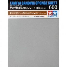 Tamiya 87148 Tamiya Sanding Sponge Sheet - 600