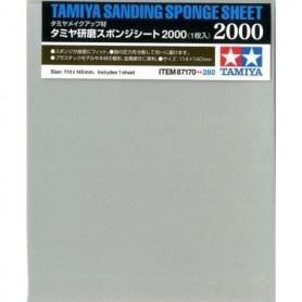 Tamiya 87170 Tamiya Sanding Sponge Sheet -2000