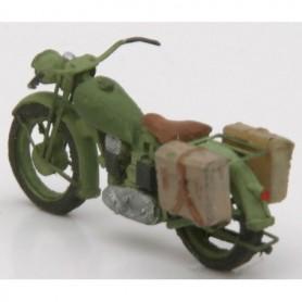 Artitec 87034 Motorcycle Triumph Militär, byggsats i resin