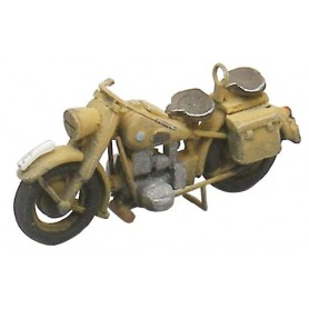 Artitec 87044 Motorcycle Wehrmacht BMW R75 + side wagon, byggsats i resin