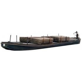 Artitec 50102 Flatbottomed Boat, byggsats i resin