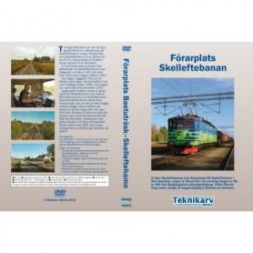 Teknikarv TAM57 Förarplats Skelleftebanan (Bastuträsk?Skelleftehamn), DVD