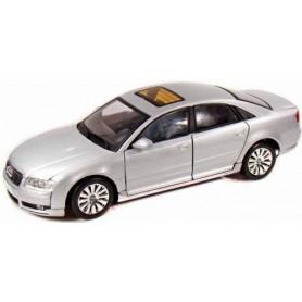 Motormax 73149 Audi A8, silver