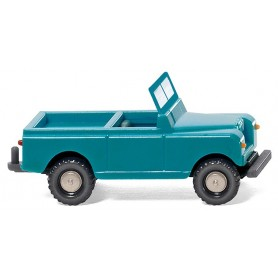 Wiking 92301 Land Rover pale turquoise/cream beige, 1958