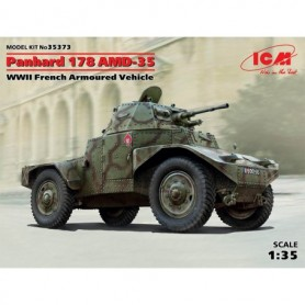 ICM 35373 Panhard 178 AMD-35 WWII French Armoured Vehicle