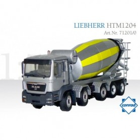 Conrad 712010 Liebherr Concrete Mixer HTM1201 on MAN TGS 5-axle