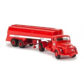 """Brekina 85612 Bil & Tanktrailer Volvo N88 """"Esso"""""""