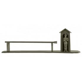 Roco 05091 Vaktpost med bom och figur