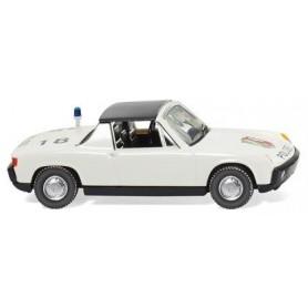 """Wiking 86437 Police - VW Porsche 914 """"NRW"""""""