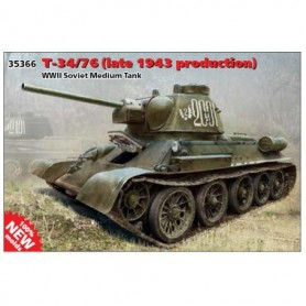 ICM 35366 Tanks T-34/76 (late 1943 production)