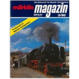 Media KAT343 Märklin Magazin 3/90 Tyska