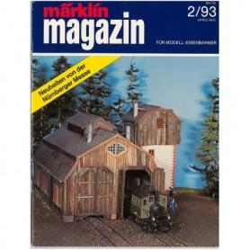 Media KAT346 Märklin Magazin 2/93 Tyska