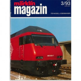 Media KAT347 Märklin Magazin 3/93 Tyska