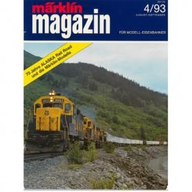 Media KAT348 Märklin Magazin 4/93 Tyska