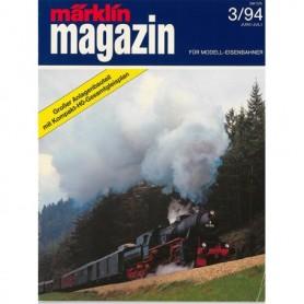 Media KAT353 Märklin Magazin 3/94 Tyska