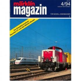 Media KAT354 Märklin Magazin 4/94 Tyska
