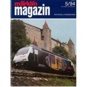Media KAT355 Märklin Magazin 5/94 Tyska