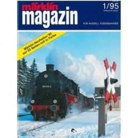 Media KAT357 Märklin Magazin 1/95 Tyska