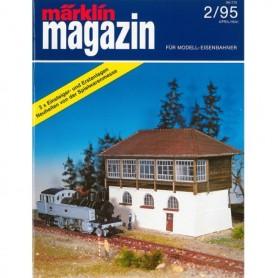 Media KAT358 Märklin Magazin 2/95 Tyska