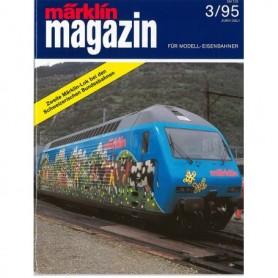 Media KAT359 Märklin Magazin 3/95 Tyska