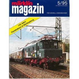 Media KAT361 Märklin Magazin 5/95 Tyska