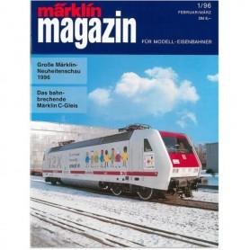 Media KAT363 Märklin Magazin 1/96 Tyska