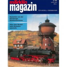 Media KAT364 Märklin Magazin 2/96 Tyska
