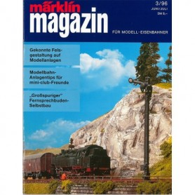 Media KAT365 Märklin Magazin 3/96 Tyska