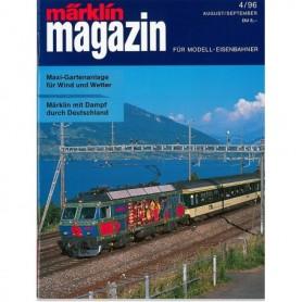Media KAT366 Märklin Magazin 4/96 Tyska