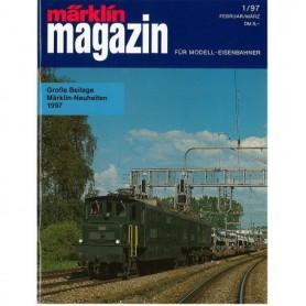 Media KAT367 Märklin Magazin 1/97 Tyska