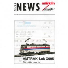 Märklin CLUB194 Märklin Club News Insider 1/94
