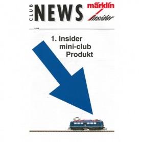 Märklin CLUB294 Märklin Club News Insider 2/94