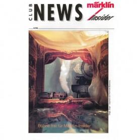 Märklin CLUB494 Märklin Club News Insider 4/94