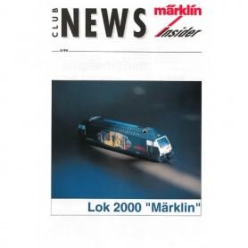 Märklin CLUB594 Märklin Club News Insider 5/94