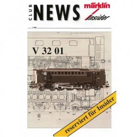 Märklin CLUB195 Märklin Club News Insider 1/95