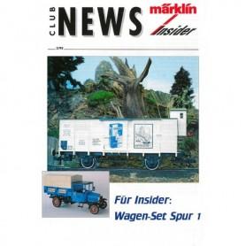 Märklin CLUB295 Märklin Club News Insider 2/95