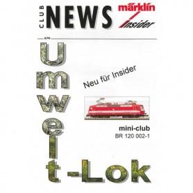 Märklin CLUB395 Märklin Club News Insider 3/95