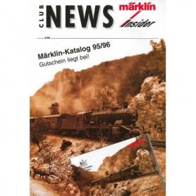 Märklin CLUB495 Märklin Club News Insider 4/95
