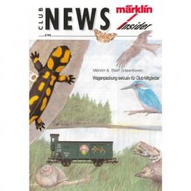 Märklin CLUB595 Märklin Club News Insider 5/95