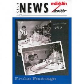 Märklin CLUB695 Märklin Club News Insider 6/95