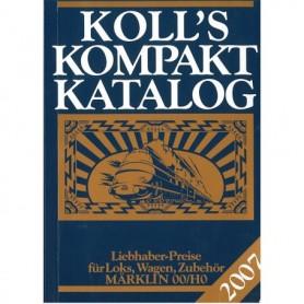 Media BOK192 Kolls Värderingsbok för Märklin 2007, pocket