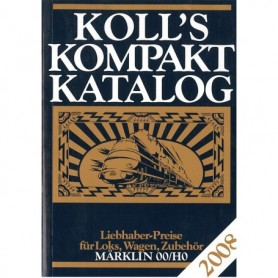 Media BOK193 Kolls Värderingsbok för Märklin 2008, pocket