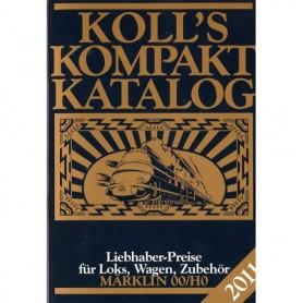 Media BOK194 Kolls Värderingsbok för Märklin 2011, pocket